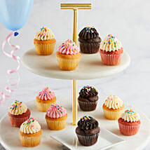 CRUMBS Mini Birthday Cupcakes: Send Gifts for Father to USA