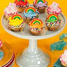 CRUMBS Mini Rainbows and Unicorns Cupcakes: Send Cupcakes to USA