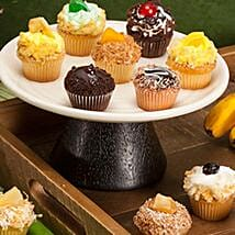CRUMBS Mini Tutti Frutti Cupcakes: New Year Cakes to USA