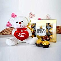 Cute Combo For U: Valentine's Day Gift Delivery Chicago
