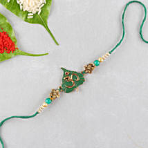 Divine Om Designer Rakhi: Send Ethnic Rakhi to USA