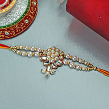Embellished Rakhi: Rakhi to New Jersey