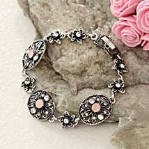 Floral Antique Bracelet: Women's Day Gift Delivery in USA