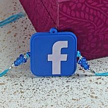 Funky Facebook Rakhi: Rakhi to New Jersey