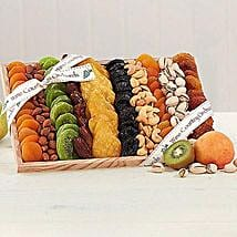 Gourmet Dried Fruit and Nut Collection: Gift Basket Delivery in USA