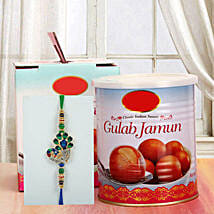 Gulab Jamun N Rakhi: Send Rakhi to San Francisco
