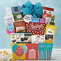 Happy Birthday Basket: Gifts to Irvine