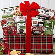Happy Holidays Gift Basket: Christmas Gift Delivery in USA