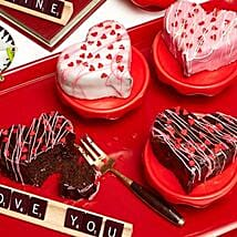 Heart Cake Collection: Valentine's Day Gift Delivery New Jersey