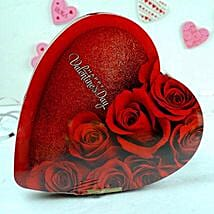Heart Shaped Chocolate Box: Valentine's Day Gift Delivery Chicago