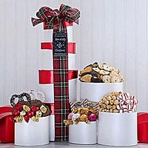 Holly Jolly Christmas Tower: Send Gifts for Him to USA