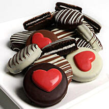 I Love You Choco Oreos: Valentine's Day Gift Delivery in USA