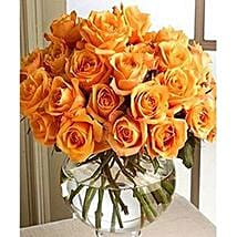 Long Stem Orange Roses: Send Flowers to Detroit