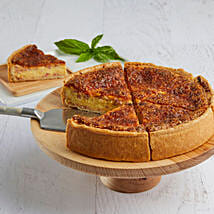 Lorraine Quiche: Send Cakes to Santa Clara