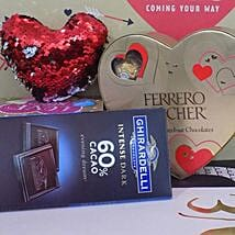 Love Pillow N Chocolates: Valentine's Day Gift Delivery Chicago