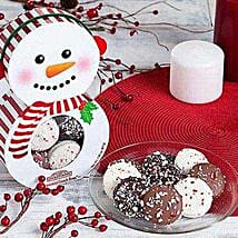 Peppermint Dipped Oreo Holiday Collection: Gift Basket Delivery in USA