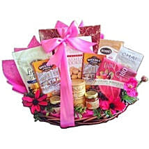 Pink Parade gift basket: Valentine's Day Gifts to Stamford