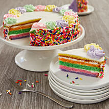Rainbow Cake: Cake Delivery in Phoenix