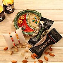 Rakhi Gift of health: Send Rakhi to New Jersey
