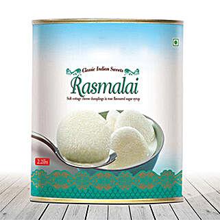 Rasmalai 1Kg: Send Sweets to USA