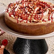 Raspberry Hazelnut Cheesecake: Send New Year Cakes to USA