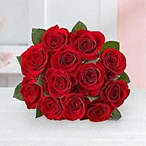 Red Romantic Bouquet: Valentine's Day Gifts to Baltimore