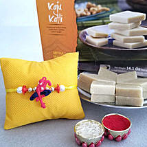 Spiderman Rakhi And Kaju Katli: Rakhi With Sweets to USA