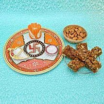 Swastika Sweet Thali: Sweet Delivery in USA