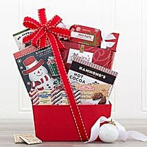 Sweet Holiday Sampler Gift Basket: Send Gifts for Her to USA