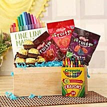 Tasty N Colorful Basket:
