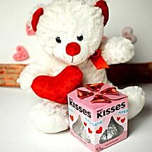 Teddy With Kisses: Send Birthday Gifts to Tempe