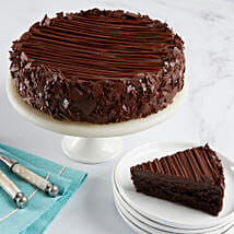 Triple Chocolate Enrobed Brownie Cake: Send Cakes to Sunnyvale