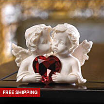 Two In Love Cherub Figurine: Valentine's Day Gifts to USA