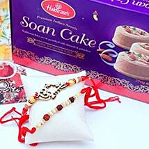 Two Rakhis N Soan Cakes: Send Rakhi to San Francisco