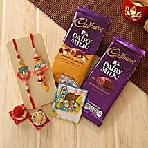 Unforgettable Rakhi Family hamper: Rakhi to New Jersey