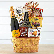 Veuve Clicquot Gift Basket: Thanks Giving Day Gifts to USA