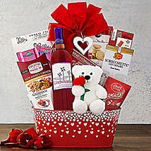 Windwhistle Valentine Red Moscato: Valentine's Day Gift Delivery Chicago